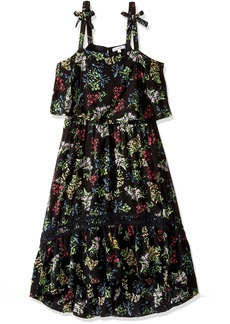 Ella Moss Girls' Slim Size Allison Rayon Dress  7-8