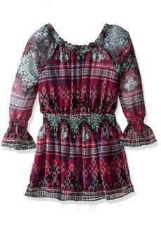 Ella Moss Girls Slim Size Cici ed Peasant Dress