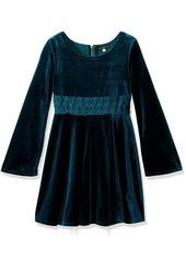 Ella Moss Girls Slim Size Katy Bell Sleeve Dress