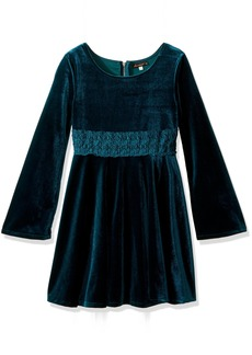 Ella Moss Girls' Slim Size Katy Bell Sleeve Dress