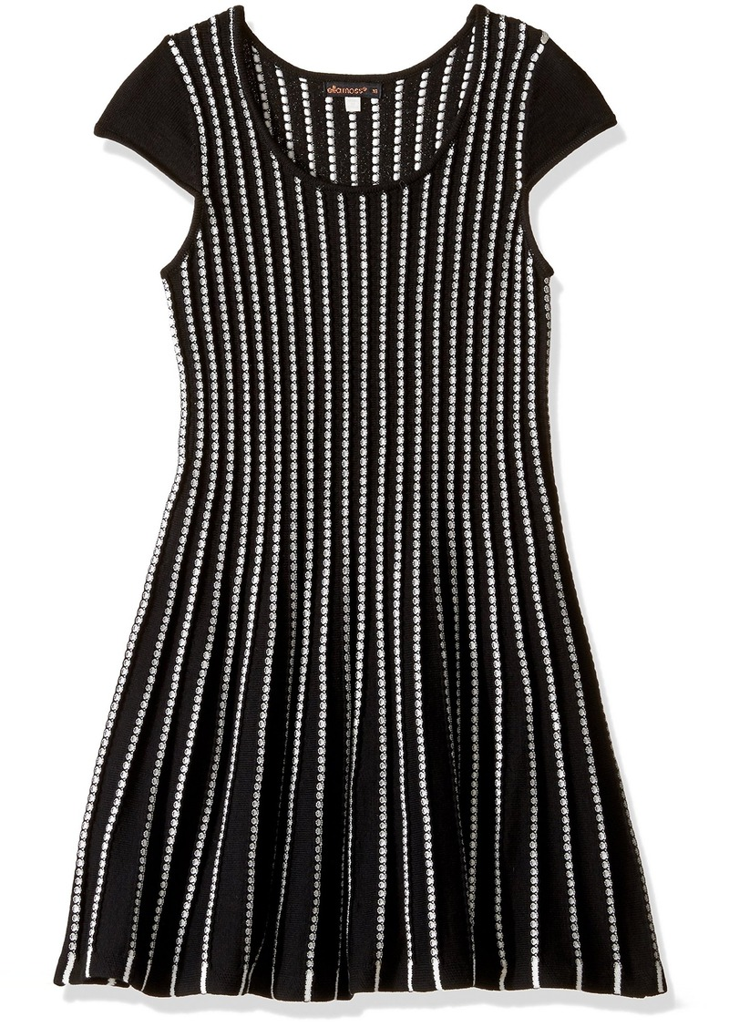 Ella Moss Girls' Slim Size Tami Fit and Flare Dress