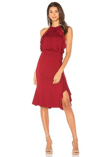 Ella Moss Halter Dress in Red. - size L (also in M,S,XS)