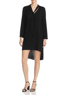Ella Moss High Low Tie Neck Dress - 100% Exclusive
