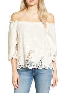 Ella Moss Jaedynn Off the Shoulder Top