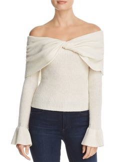 Ella Moss Jasina Off-the-Shoulder Sweater