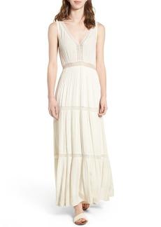Ella Moss Katella Lace Inset Maxi Dress
