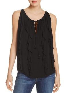 Ella Moss Katella Ruffled Top