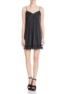 Ella Moss Lace-Trimmed Slip Dress