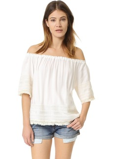 Ella Moss Lilita Off Shoulder Blouse
