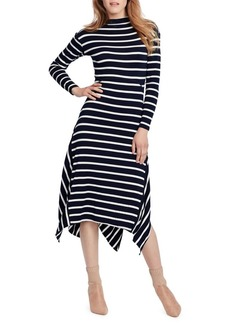 Ella Moss Long-Sleeve Striped Dress