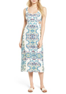 Ella Moss Lover Tapestry Midi Dress