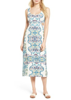 Ella Moss Lover Tapestry Midi Dress