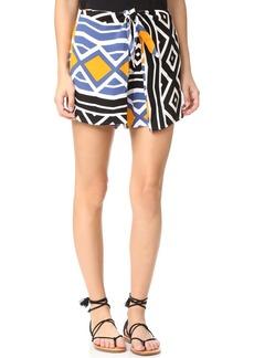 Ella Moss Luanda Tie Front Shorts