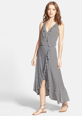 Ella Moss 'Mallory' Stripe Faux Wrap Dress