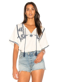 Marini Embroidered Top