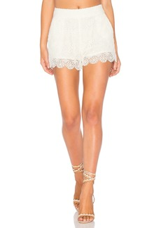 Ella Moss Medallion Crochet Short