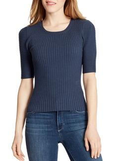 Ella Moss Miranda Puff-Sleeve Sweater