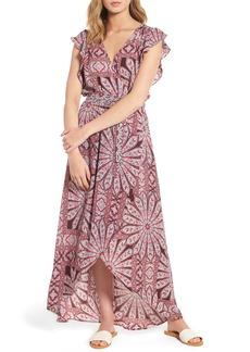 Ella Moss Mosaic Wrap Dress