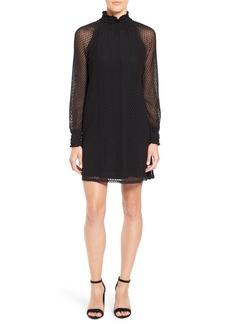 Ella Moss 'Nikkita' Lace Overlay Shift Dress