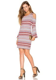 Ella Moss Nomadic Rib Dress in Blush. - size M (also in L,S,XS)