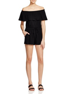 Ella Moss Off-The-Shoulder Romper