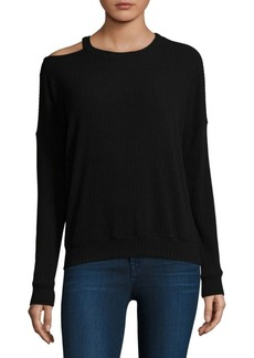 Ella Moss One-Shoulder Sweatshirt