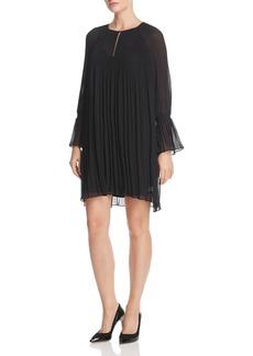 Ella Moss Pleated Mini Dress