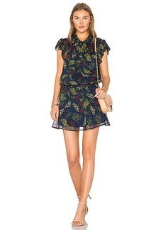 Ella Moss Poetic Garden Dress in Navy. - size L (also in M,S,XS)