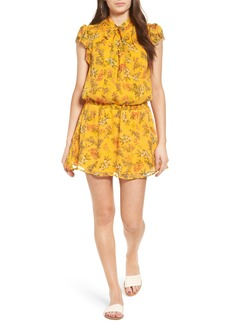 Ella Moss Poetic Garden Silk Dress