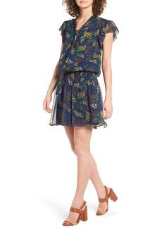 Ella Moss Poetic Garden Silk Dress