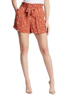 Ella Moss Polka Dot Paperbag Shorts