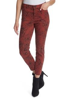 Ella Moss High-Rise Printed Ankle Skinny Jeans