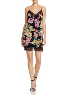 Ella Moss Printed Silk Slip Dress