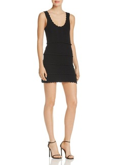 Ella Moss Rivera Textured Mini Dress