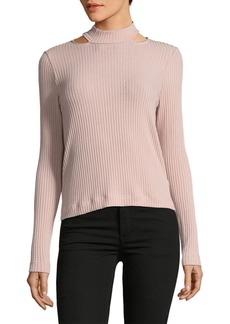 Ella Moss Long-Sleeve Turtleneck Sweatshirt