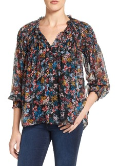 Ella Moss Silk Pleasant Blouse