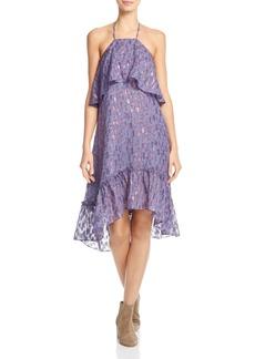 Ella Moss Stargazer Silk-Blend Halter Dress - 100% Exclusive