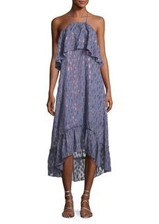 Ella Moss Stargazer Tiered Chiffon Maxi Dress