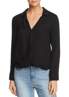 Ella Moss Stella Faux-Wrap Top