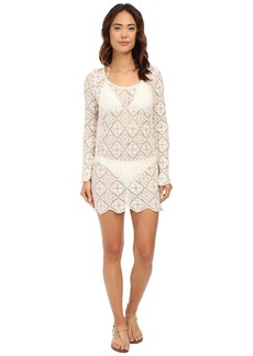 Ella Moss Stella Lace Tunic Cover-Up