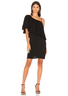 Ella Moss Stella One Shoulder Dress in Black. - size S (also in M,XS)