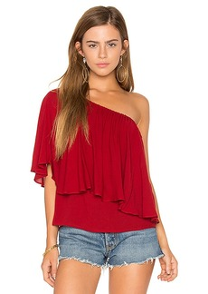 Ella Moss Stella Top in Brick. - size M (also in S,XS)