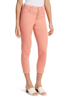 Ella Moss Super High Cropped Skinny Jeans