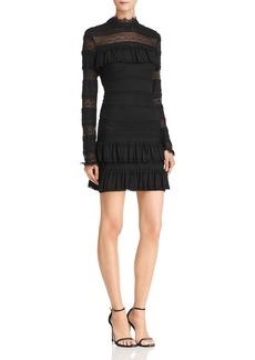Ella Moss Tiered Ruffled Lace Dress