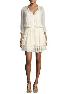 Ella Moss Trellis Vine Eyelet Lace Dress