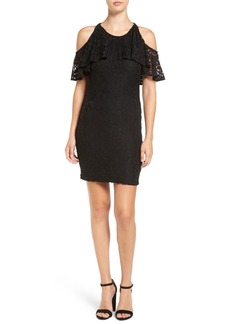 Ella Moss 'Trello' Lace Cold Shoulder Dress