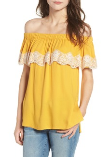 Ella Moss Trinity Off the Shoulder Top