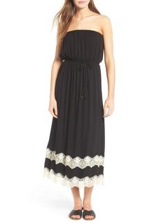 Ella Moss Trinity Strapless Midi Dress