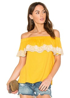 Ella Moss Trinity Top in Yellow. - size M (also in S,XS)