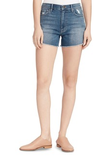 Ella Moss Vintage High-Rise Shorts in Chesnut